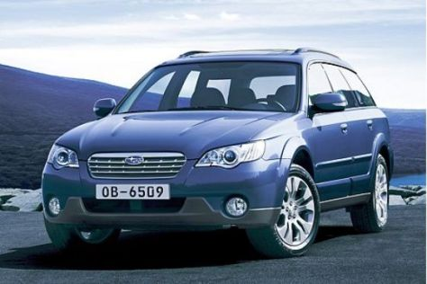 Facelift Subaru Legacy und Outback