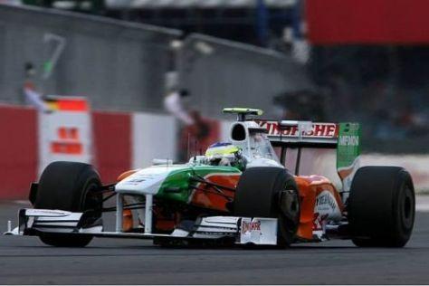Giancarlo Fisichella konnte sich mit dem Force India stark präsentieren