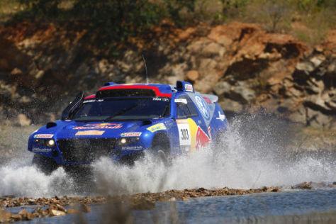 Rallye dos Sertoes 2008, Vorjahressieger Mark Miller und Ralph Pitchford