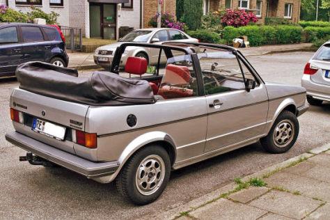 VW Golf I Cabrio Baujahr 1981