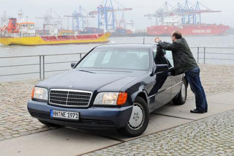 Mercedes-Benz 400 SEL Nikolaus Eickmann