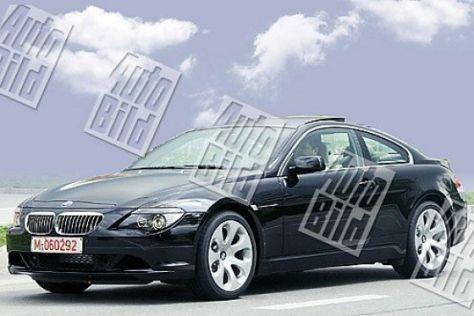 Erlkönig BMW 5er und 6er