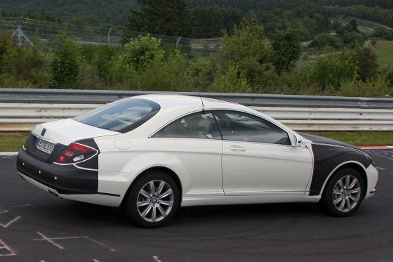 Erlkönig Mercedes CL Facelift
