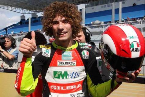 Marco Simoncelli wird 2010 mit Werksmaterial im Gresini-MotoGP-Team fahren