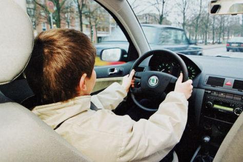 Fahrtraining für Kinder