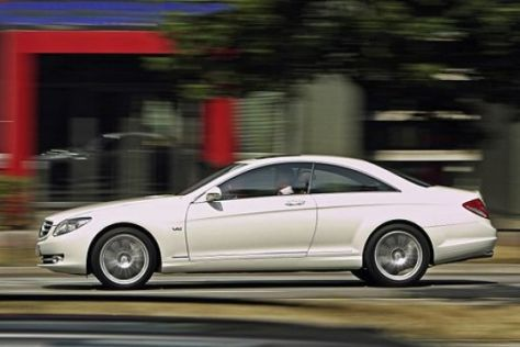 Test Mercedes CL 600