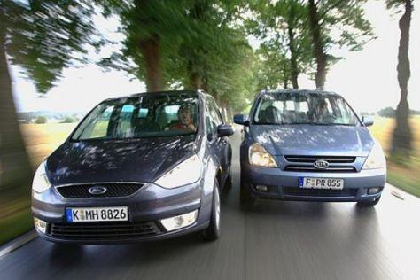 Test Ford Galaxy gegen Kia Carnival