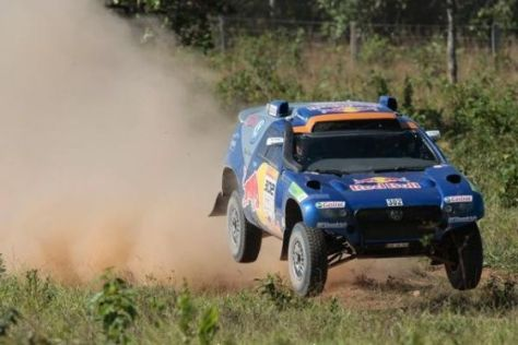 Rallye dos Sertoes 2009, Tag 3, Nasser Al-Attiyah, VW Race Touareg 2