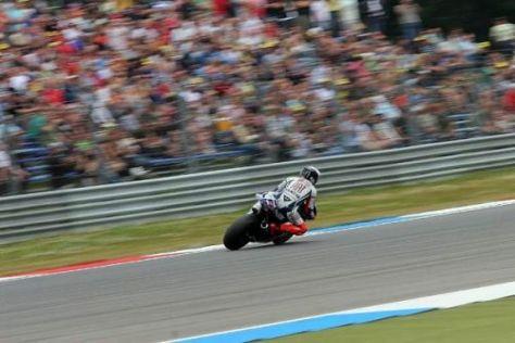 Jorge Lorenzo setzte sich im finalen Warmup in Assen an die Spitze