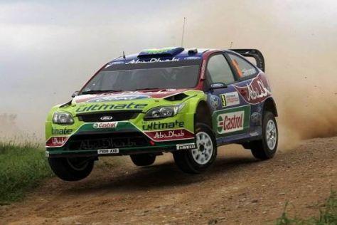 Mikko Hirvonen konnte seinen Vorsprung bei der Rallye Polen wieder ausbauen