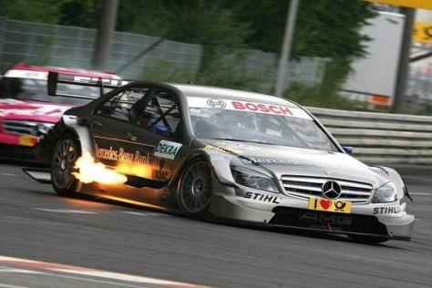 Bruno Spengler landete als bester Mercedes-Fahrer auf dem dritten Rang