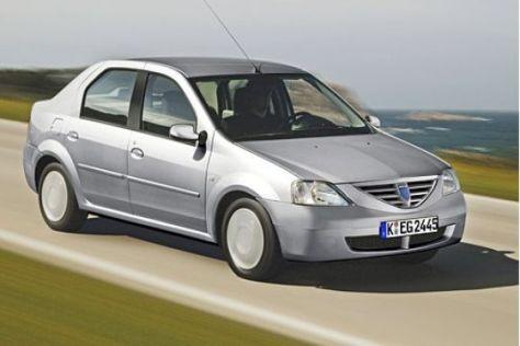 Modellpflege Dacia Logan (2007)