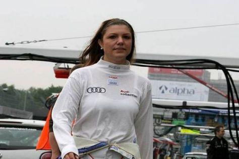 Katherine Legge darf nun am Norisring von Platz fünf aus starten