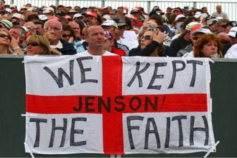 """We kept the Faith"" - Jenson Button genießt in Großbritannien viele Sympathien"