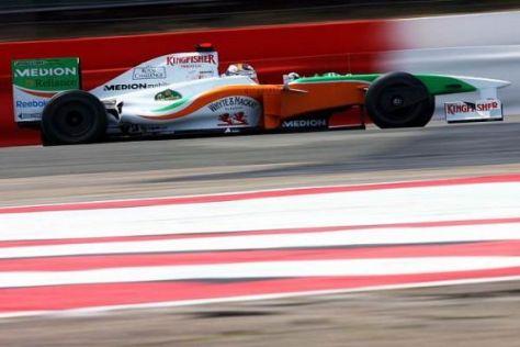 Adrian Sutil würde mit der Formel 1 gerne auch weiterhin in Silverstone gastieren