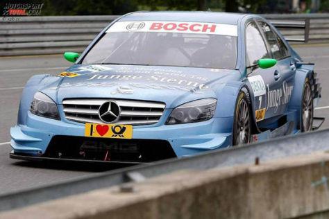 DTM Norisring 2009, Jamie Green, DTM-Mercedes C-Klasse