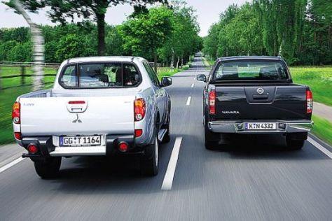 Test Mitsubishi L200 – Nissan Navara