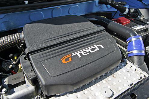 Turbo sei Dank: Statt 60-Serien-PS holt G-Tech 84 Pferdestärken aus dem 1,2-Liter-Vierzylinder des Panda.