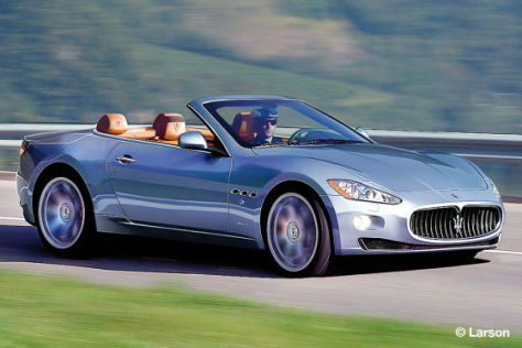 Illustration Maserati GT Spyder