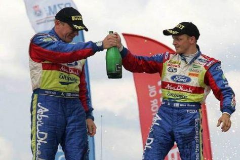 Mikko Hirvonen und Jarmo Lehtinen feierten ihren zweiten Sieg in Folge