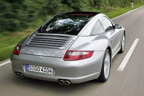 Test Porsche 911 Targa
