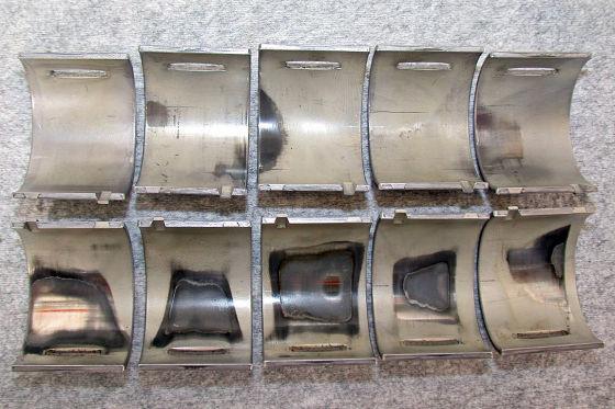 Skoda Roomster 1.9 TDI Nockenwellen-Lagerschalen