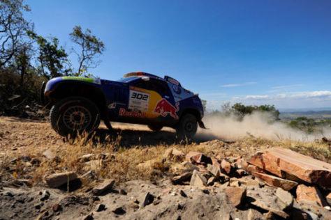 Rallye dos Sertões Nasser Al-Attiyah Timo Gottschalk Race Touareg 2