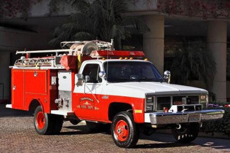 Feuerwehr von Michael Jackson