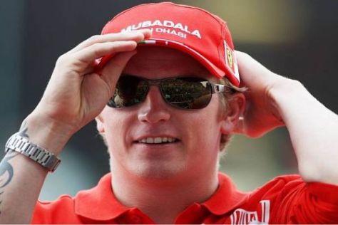 Kimi Räikkönen rüstet sich für sein Debüt auf Schotter und in der WRC