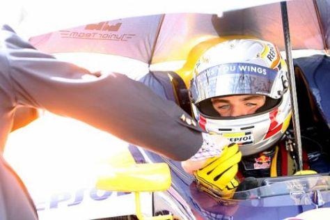 Jaime Alguersuari hofft auf möglichst viele Testkilometer in der Formel 1