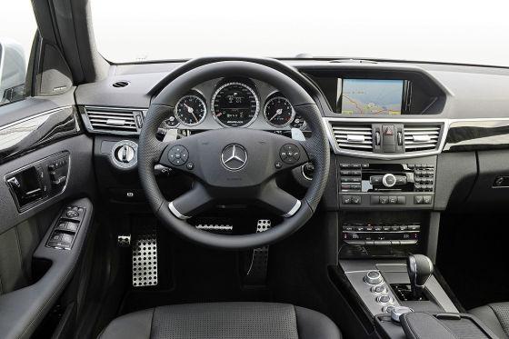 Cockpit Mercedes E 63 AMG