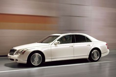 Maybach 57 S in Paris 2006