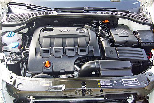 Knauserig: Skoda bescheinigt dem Combi 5,8 Liter Dieseldurst.