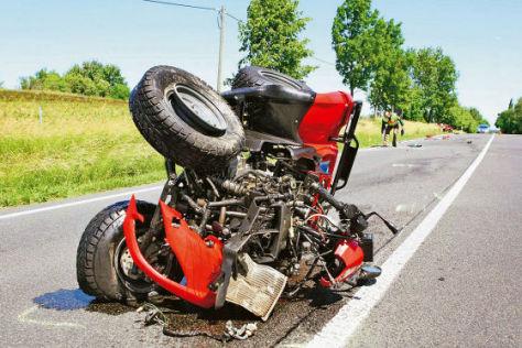 Unfall mit Quad
