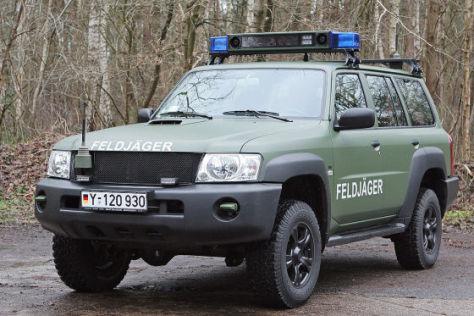 Nissan Patrol neuer Feldjäger