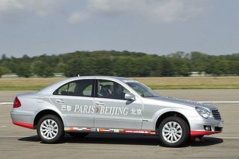 "AUTO BILD-Aktion ""Paris-Peking"""