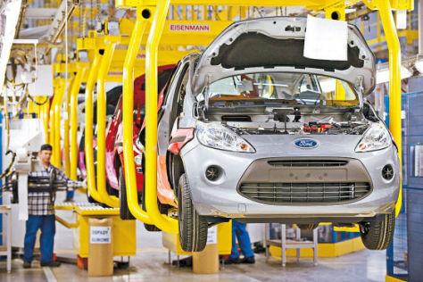 Ford Ka Produktion