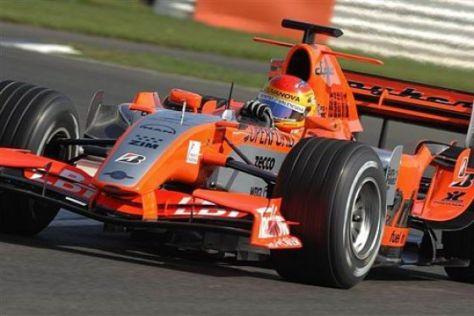 Tapetenwechsel beim Spyker F1-Team