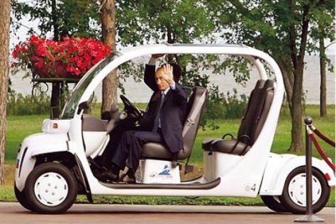 Elektromobile von GEM