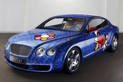 Bentley Continental GT Pop-Art
