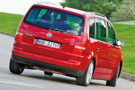 Test VW Touran TSI