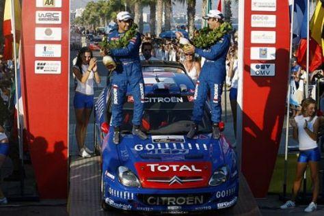 Rallye-WM auf Zypern 2006
