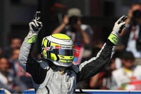Jenson Button liegt derzeit voll auf WM-Kurs und führt die Gesamtwertung an