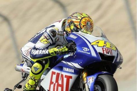 Valentino Rossi baute seinen Vorsprung in der Weltmeisterschaft weiter aus