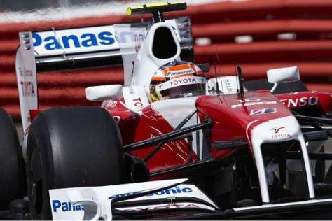 Timo Glock und Toyota haben fest vor, am Nürburgring für gute Ergebnisse zu sorgen