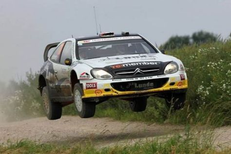 Petter Solberg wird auch in Finnland mit seinem alten Xsara antreten