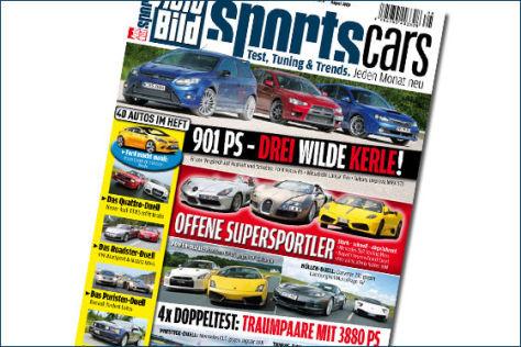 AUTO BILD SPORTSCARS 8/2009