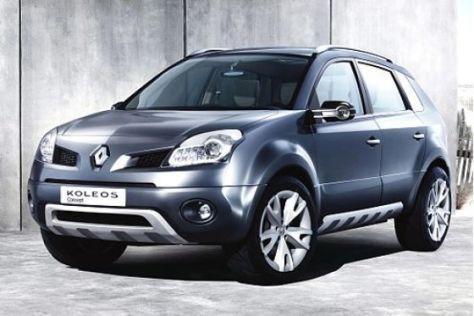 Renault-Studien Koleos und Twingo II
