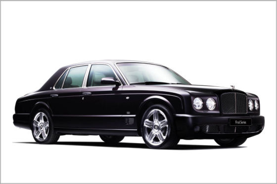 Vorgänger: Bentley Arnage Final Series