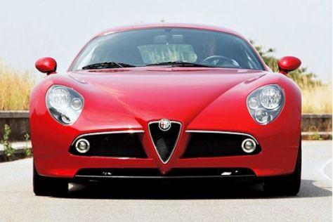 Test Alfa 8C Competizione
